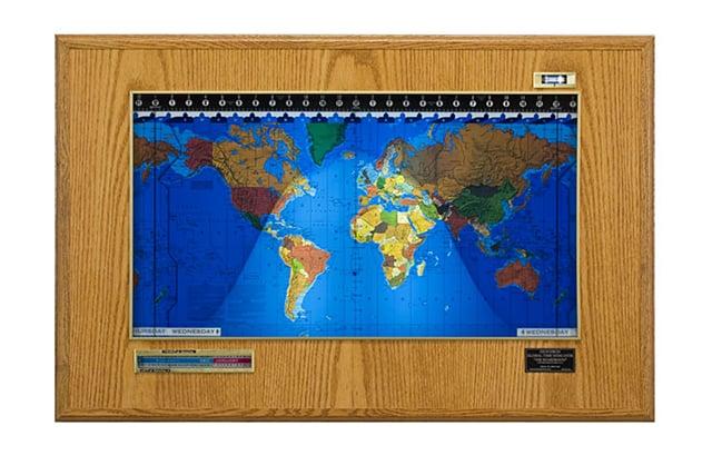 GeoChron World Clock