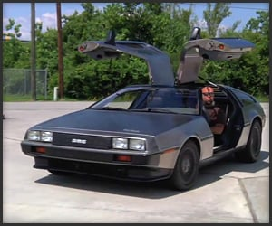 Eletric DeLorean Test Drive
