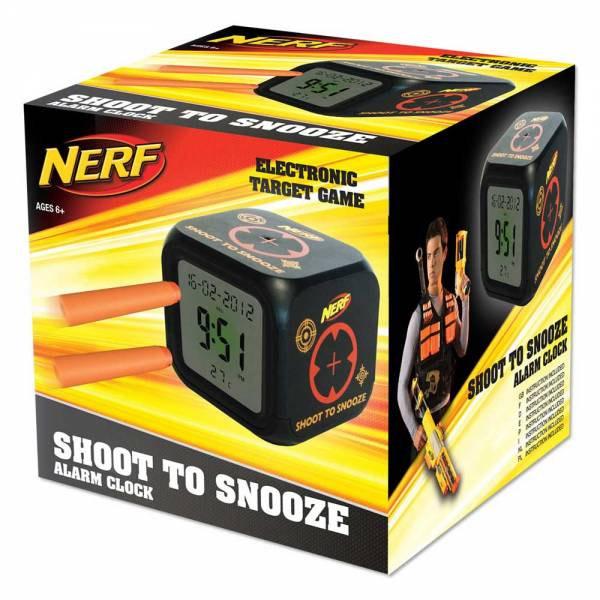 Shoot-to-Snooze Alarm Clock