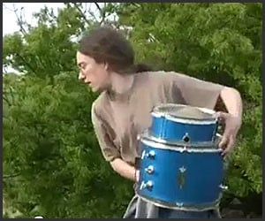 Two Drums, a Cymbal and a Cliff