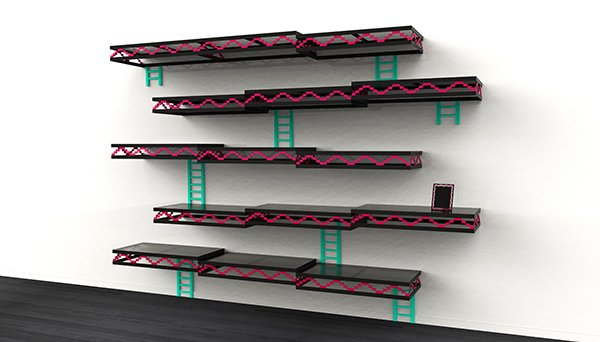 Donkey Kong Wall Shelves