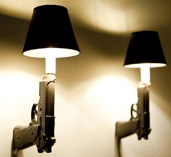 Gun Wall Sconces