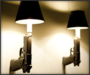Gun Wall Sconces