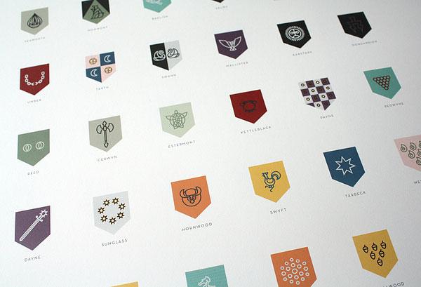 Sigils of Westeros Poster