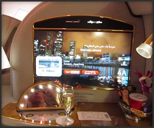 Emirates First Class Flight
