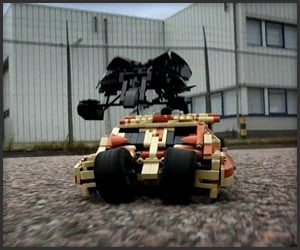 Motorized LEGO Tumbler & Bat