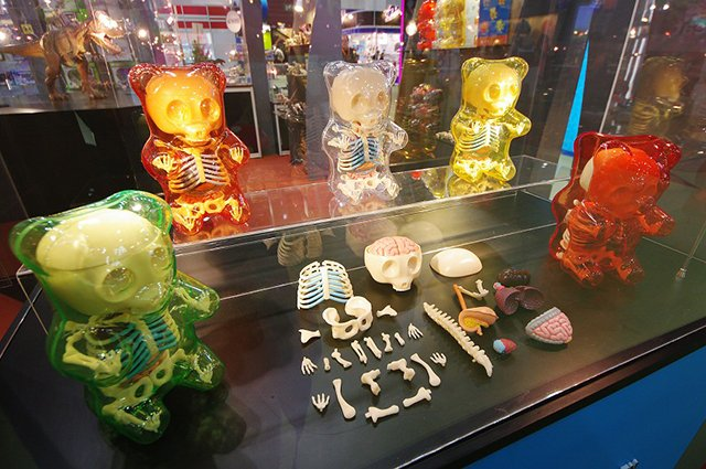 Gummy Bear Anatomy Toy