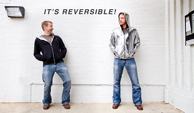Reversible Disco Hoodie