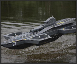 Helicarrier RC Replica