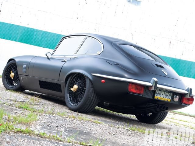 1971 Jaguar XK-E Flat Cat