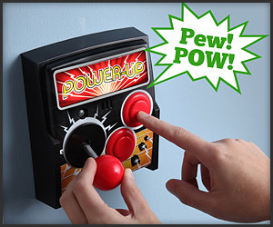 Power-Up Arcade Light Switch