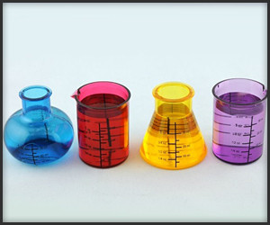 Chemistry Set Shot Glasses