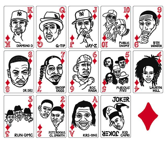 Hip Hop Playing Cards