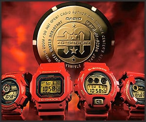 G-Shock Rising Red Collection