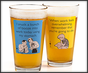 Someecards Pint Glasses