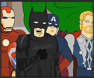 Dark Knight Meets the Avengers