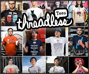 Awesomer Threadless Giveaway