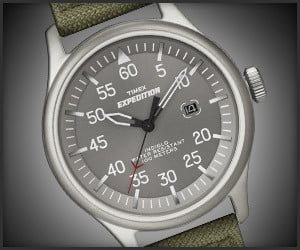 Timex Expedition Military Watch