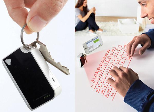 Keychain Virtual Keyboard