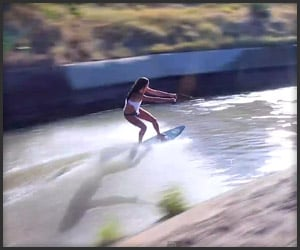 Ghetto Wakeboarding