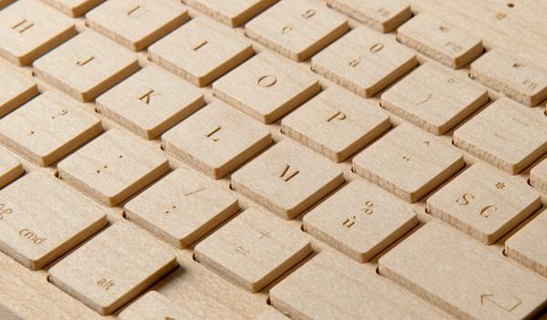 Orée Board Wooden Keyboard
