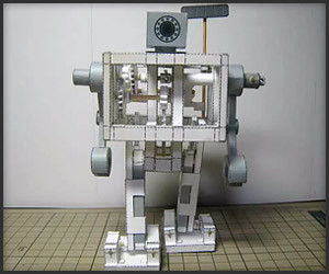 Walking Paper Robot