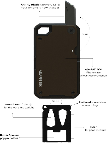 Adappt XT iPhone Case
