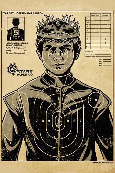 GoT Joffrey Target Poster