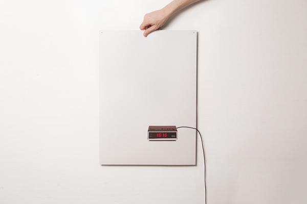 Flat Time Wall Clock
