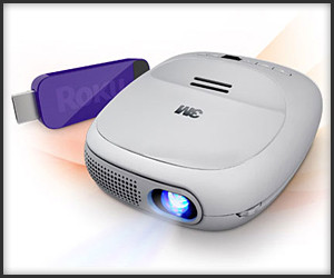 3M/Roku Streaming Projector