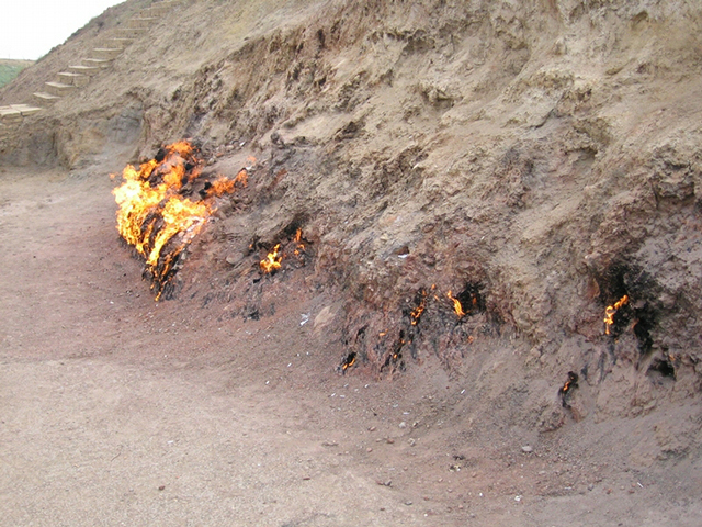 The Burning Hill
