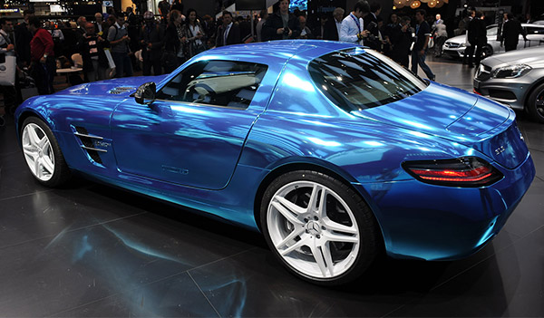 Mb Sls Amg Electric Drive The Awesomer