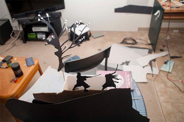 Paper-Cut Silhouttes