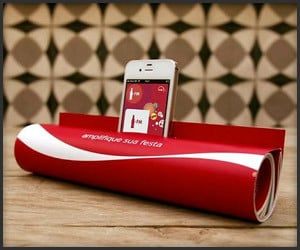 Coke Ad iPhone Dock