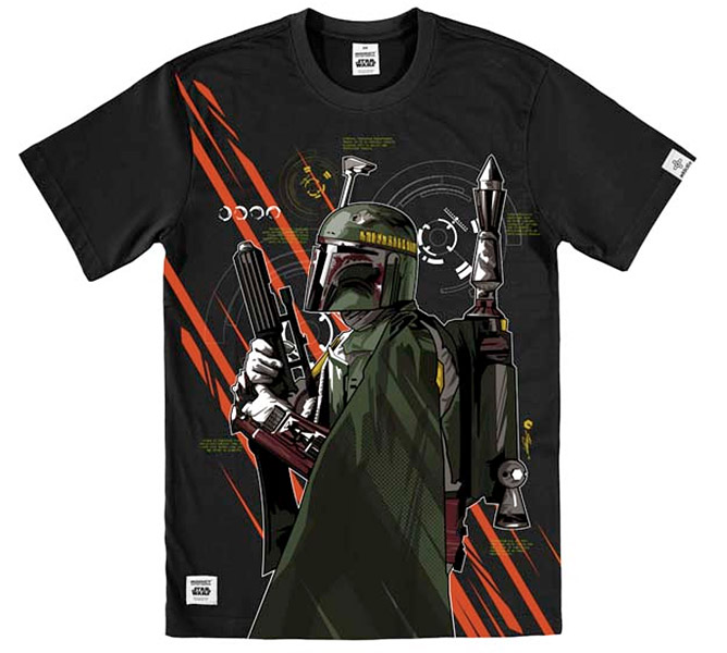 Addict x Star Wars T-Shirts