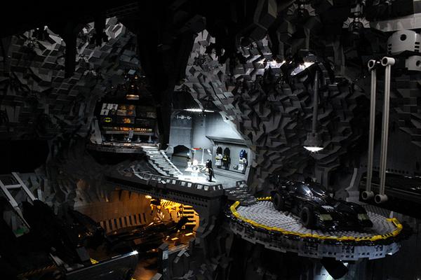 Mega LEGO Batcave