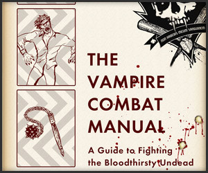 Giveaway: Vampire Combat Manual