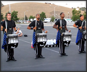 Parking Lot Drumline