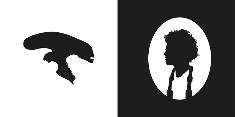 Silhouettes from Pop Culture