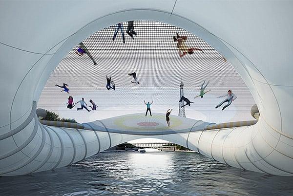 Trampoline Bridge