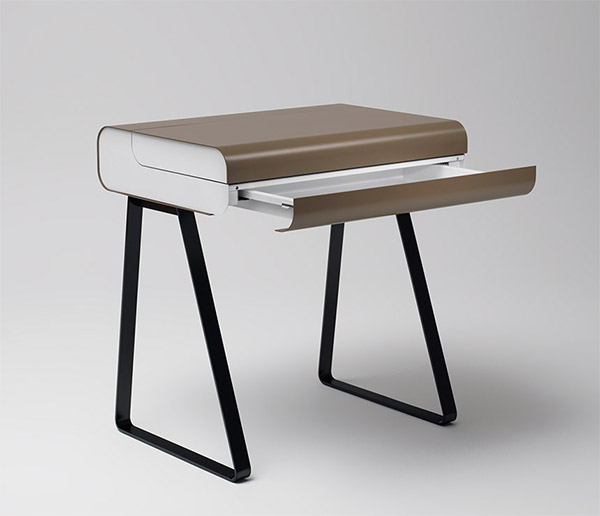 retro bureau desk the awesomer. Black Bedroom Furniture Sets. Home Design Ideas