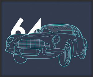 50 Years of Bond Cars