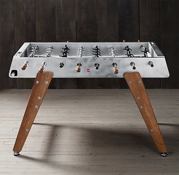 Electropolished Foosball Table