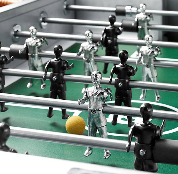 Electropolished Foosball Table