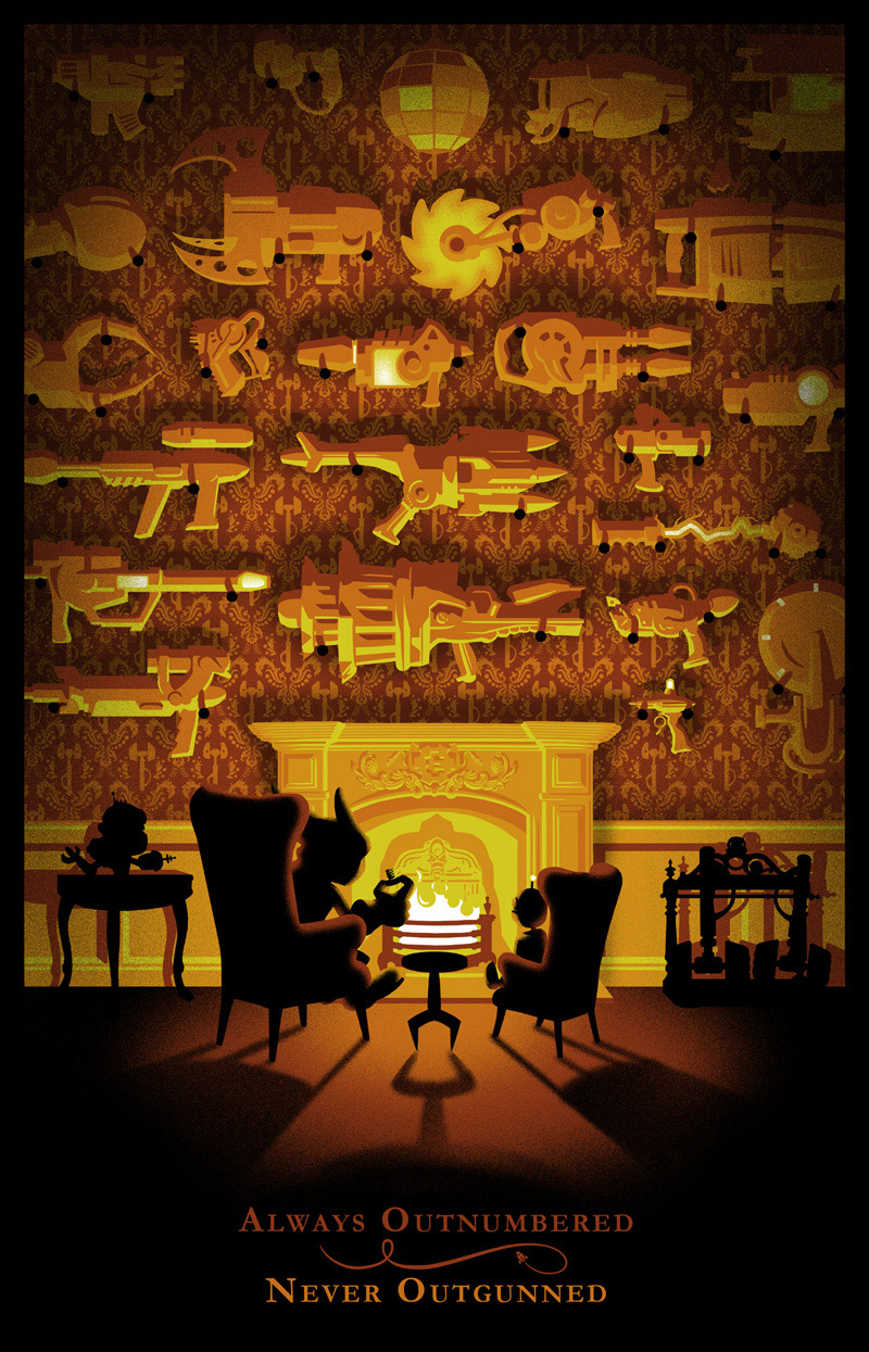 Ratchet & Clank: 10th Anniv Prints