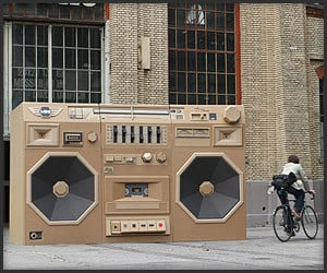 Giant Ghetto Blaster