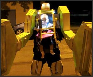 Aliens Baby Power Loader Costume