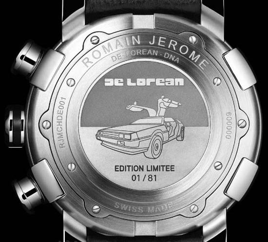 Romain Jerome DeLorean Watch
