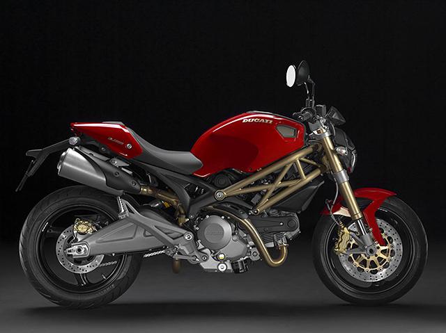 Ducati Monster Red Frame