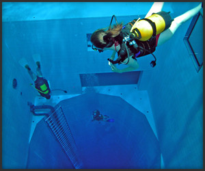 World's Deepest Indoor Pool